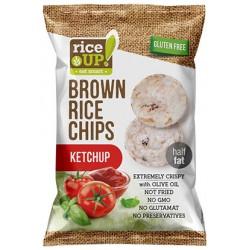 Brown Rice Chips 60g Ketchup