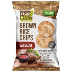 Brown Rice Chips 60g Barbecue
