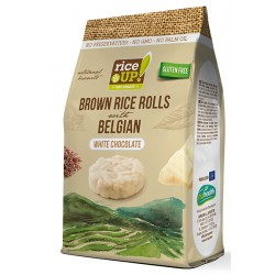 Brown Rice Rolls 50g Belgian White Chocolate